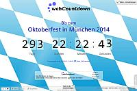 Countdown Oktoberfest 2017