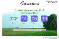 Countdown Vatertag