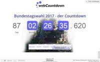 Countdown zur Bundestagswahl 2017